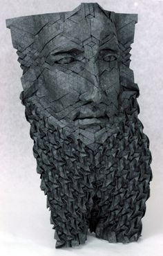 Bearded Man. (Reminds me very much of Sargon, actually). by Joel Cooper