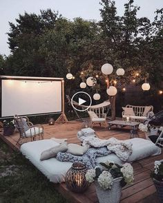64 Creative DIY Patio Gardens Ideas on a Budget # 2019 64 Creative DIY Patio Gardens Ideas on a Budget newport-internati The post 64 Creative DIY Patio Gardens Ideas on a Budget # 2019 appeared first on Patio Diy. Patio Garden Ideas On A Budget, Outdoor Patio Designs, Diy Patio, Outdoor Spaces, Outdoor Living, Outdoor Decor, Backyard Ideas, Cozy Backyard, Backyard Movie