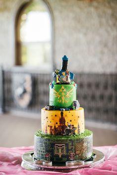 The Animated Anajo: The Cake! Legend of Zelda Wedding Cake