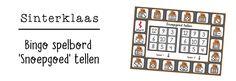 JufShanna: bingo spelbord - snoepgoed tellen