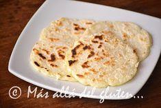 Más allá del gluten...: Arepas de Yuca (Receta GFCFSF, Vegana) Deli Food, Vegetarian Recipes, Gluten Free, Diet, Snacks, Baking, Ethnic Recipes, Eggs, Vegetarian Cooking
