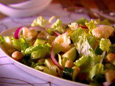 Garbanzo Bean and Zucchini Salad recipe from Giada De Laurentiis.  Marinating in the fridge as we speak!