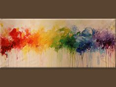 painting abstract painting Acrylic paintingwall Art by artbyoak1