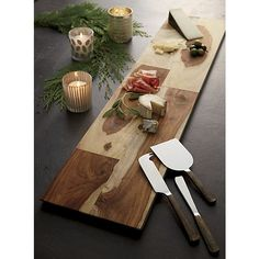 Palisades Cheese Board in Specialty Serveware | Crate and Barrel