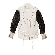 3.1 Phillip Lim Trifecta Studded Biker Jacket