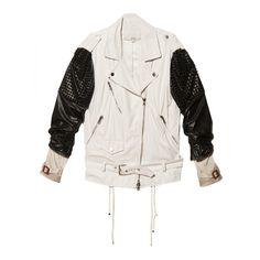 3.1 Phillip Lim Trifecta Studded Biker Jacket