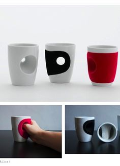 Holy coffee mugs Batman! How do these things even work? They look good though.