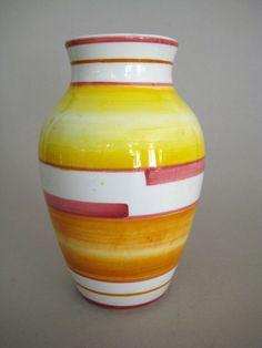 Art Deco Vase _  Eva Stricker - Zeisel _  Schramberg  _  19cm