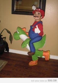 Mario & Yoshi costum
