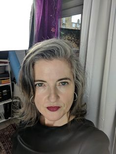 18 months in and loving the freedom #greyhairdontcare