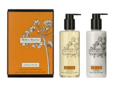 Miller Harris/Bath and Body/Citron Citron/Hand Wash and Hand Lotion Gift Set/Citrus