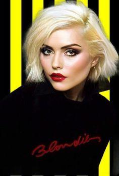 Blondie shared by Space Girl on We Heart It Blondie Debbie Harry, Debbie Harry Hair, Debbie Harry Style, Joan Jett, Patti Smith, Courtney Love, Janis Joplin, First Rapper, Divas
