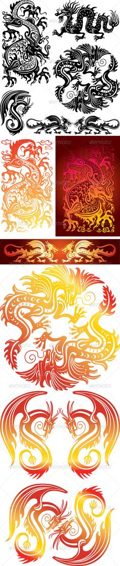 Set of the Dragons
