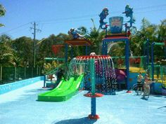 Splash pad - Australian supplier. Of course they would create something cool!