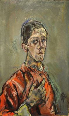 Oskar Kokoschka, self portrait