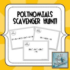 Multiplying Polynomials (FOIL) Coloring Activity My TpT