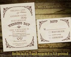 country style wedding invitations Check more image at http://bybrilliant.com/2897/country-style-wedding-invitations