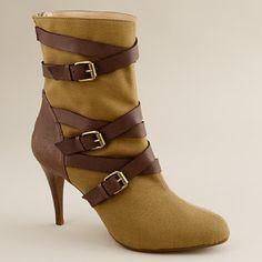 Palomar High Heel Buckle Boots