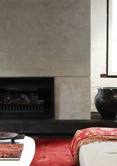 Sizzling shortlisted entry in the 2011 Australian Interior Design Awards. The Carriageworks by Hare + Klein Interior Design. Home Decor Inspiration, Stucco Walls, Carriage House, Fireplace Parts, Interior Design Blog, Warehouse Renovation, Fireplace, Interior Design Awards, Rustic House