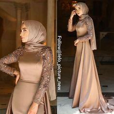 Hijab Prom Dress, Hijab Evening Dress, Modesty Fashion, Muslim Fashion, Fashion Dresses, Stylish Dresses, Elegant Dresses, Mode Turban, Pakistani Fashion Party Wear
