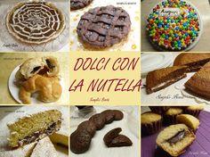 RICETTE ALLA NUTELLA - RACCOLTA DI TORTE E DOLCI