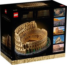 Colosseum 10276 | Creator Expert | Official LEGO® Shop SE Biggest Lego Set Ever, Lego Creator, The Creator, Model Kits For Adults, Gifts For History Buffs, Famous Structures, Best Lego Sets, Lego Building Sets, Italy