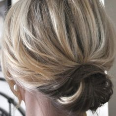 Not everyone is as much a fan of the messy bun as I am. The small things blog.