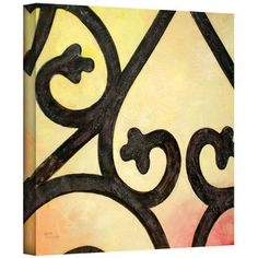 Art Wall Herb Dickinson 'Wrought II' Gallery-Wrapped Canvas | Overstock.com Shopping - Top Rated ArtWall Canvas