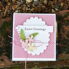 A sweet Easter card created by @HopeChances using various products from #SBADhesivesBy3L Visit the blog for tutorial.