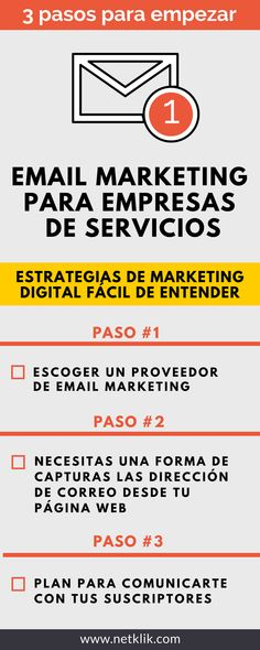 Email marketing para empresas de servicios (3 pasos para empezar a convertir tráfico en clientes)