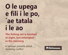Samoan Proverbs
