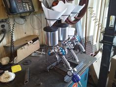 Show us your welding projects - Page 37 - The Garage Journal Board Spray gun stand