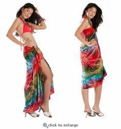 Go bold with a printed sarong!