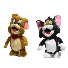 Find More Electronic Pets Information about New Arrived 2pcs Tom and Jerry Popular Cartoon Electronic Toys Stuffed Plush Dolls Interactive Doll For Birthday Gift,High Quality doll study,China doll theme Suppliers, Cheap doll plant from Love Of Freedom Foreign Trade Co., Ltd. on Aliexpress.com