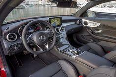 Mercedes-AMG C 43 Coupé; Exterieur: designo hyazinthrot metallic; Interieur: Leder schwarz; Kraftstoffverbrauch kombiniert: 7,8 l/100 km; CO2-Emissionen kombiniert: 178 g/km; exterior: designo hyacinth red metallic; interior: leather black; fuel consumption combined: 7.8 l/100 km; CO2 emissions combined: 178 g/km