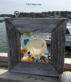 Beach Glass Sun Catcher by beachcreation on Etsy - Many more designs available!