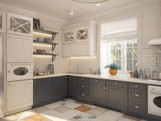 Busca imágenes de diseños de Cocinas estilo clásico: . Encuentra las mejores fotos para inspirarte y y crear el hogar de tus sueños.