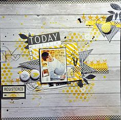 #papercrafting #scrapbook #layout -  Le blog de lespagesdenadia.over-blog.com
