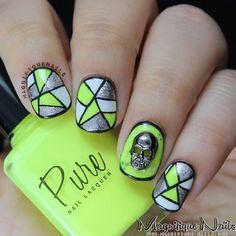 Instagram photo by magnifiquenails  #nail #nails #nailart