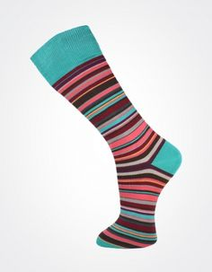 Effio X Effio Bloom of Life - Glorious no.719 #Men #Fashion #Socks #Stripes #Pink