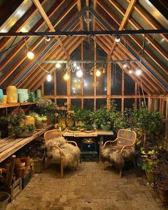 Imgur Post - Imgur Winter Greenhouse, Backyard Greenhouse, Greenhouse Plans, Outdoor Rooms, Outdoor Gardens, Outdoor Living, Design Jardin, Garden Design, Dream Garden