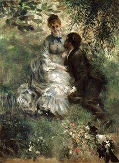 Pierre-Auguste Renoir - The Lovers