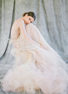 Photography: Feather And Stone - www.featherandstone.co Wedding Dress: MXM Couture - www.mxmcouture.com   Read More on SMP: http://www.stylemepretty.com/2016/04/01/elegant-french-chateau-gilded-wedding-inspiration/