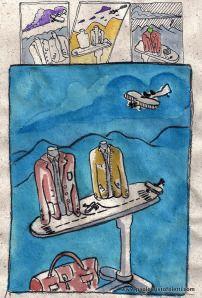 bientôt... à Rome | cartes postales d'un magasin de vêtements