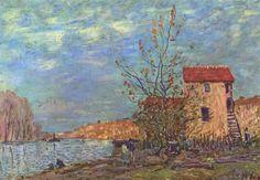 Loring in Moret *Alfred Sisley