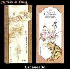 Dois Marcadores De Livro – Bookmark Season's 05. Frete Grátis - Carta Registrada