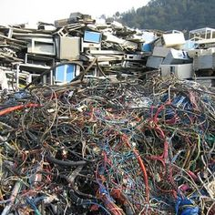 There are billions of dollars worth of precious metals contained in the e-waste that's being discarded and left in urban landfills.