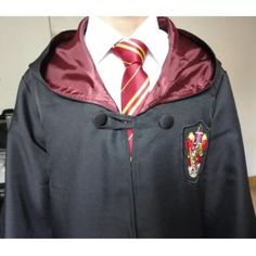 Harry Potter gryffindor cloak cape robe costume For adults Jackets & Coats Capes