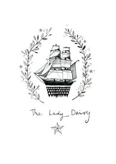 The Lady Daisy - Limited Edition Print by CATHERINE CAMPBELL