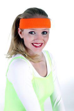 Stirnband im 70er-Jahre-Look, Frottee Schweißband Aerobic,  wird bei Fetenman's verkleidungen-kostueme.de unter der Kategorie Accessoires Bänder   Ketten  geführt. Tolle Verkleidungen von Orlob Handelsgesellschaft online bei verkleidungen-kostueme.de bestellen und preiswert einkaufen. Die Artikelnummer lautet 28-52-Stirnband (EAN / GTIN  ).